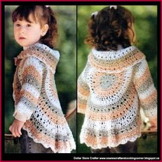 Dollar Store Crafter: Make This Adorable Crochet Shrug Bolero Cardigan (...