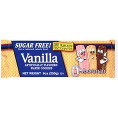 Food Wafer Cookies Sugar Free Vanilla Wafers Vanilla