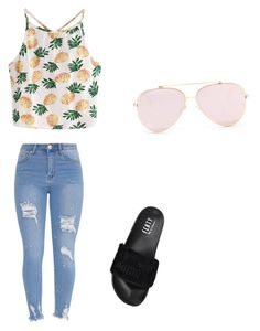 """Untitled #33"" by ashley0374 on Polyvore featuring WithChic and Puma"
