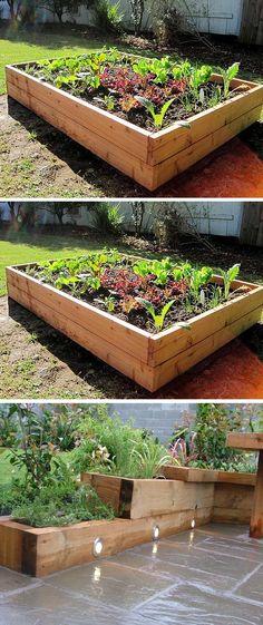 Alternative Gardning: How to Make A Raised Garden Bed