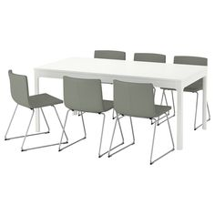 EKEDALEN / BERNHARD Table and 6 chairs - IKEA