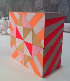 building blocks: these are so fun and sculptural- I think they'd even be fun for an adult who is design savvy.