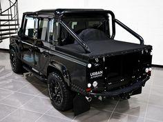 Land Rover Defender 130 Td4 DCH adventure sports Urban Truck. So nice.
