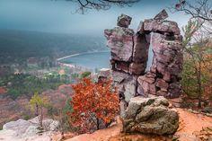 November at Devil's Doorway, Devil's Lake State Park - www.devilslakewisconsin.com