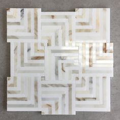Sold by SheetSheet Size: 12 in. x 12 in. Chip Size: Random Per Sheet: 1 Sqft. Primary Color: White & Gold Finish: Polished Material Type: Calacatta Gold & Thassos White Marble Thickness: in. or Pattern: Square Basketweave Marble Mosaic, Mosaic Tiles, Marble Tile Backsplash, Calacatta Gold Marble, Mosaics, Marble Stones, Stone Tiles, White Marble Kitchen, Cream Kitchen Tiles