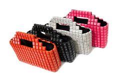 Bolsos Basurita: Bolsos hechos con material reciclado