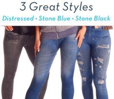 Jeaneez Leggings Skinny Jeans the As Seen On TV Skinny Jeans