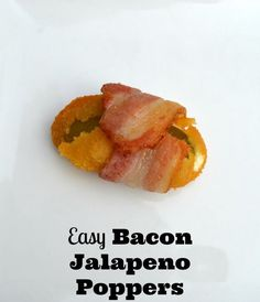 The NCAA Basketball Championship is upon us and I know you could use some easy game day appetizers, right?! Snack hacks and bacon jalapeno popper recipe.