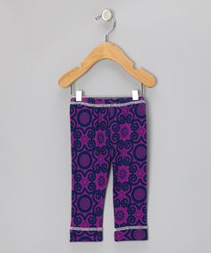 Take a look at this Violet Rose Flora Organic Leggings - Infant, Toddler & Kids by Kiwi Industries on #zulily today!