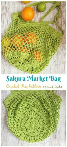 Most recent Absolutely Free Crochet Bag free patterns Strategies Sakura Market Bag Crochet Free Pattern – Market Grocery Patterns Bag Crochet, Crochet Market Bag, Crochet Purses, Crochet Crafts, Yarn Crafts, Crochet Ideas, Diy Crochet Projects, Diy Crochet Patterns, Crochet Backpack