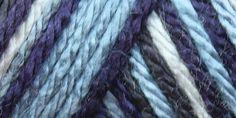 Caron® Simply Soft® Camo Yarn Blue Camo
