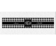 Houndstooth 13 x 18 | Hand Towels | Personalized & Monogrammed Gifts, Stationary & Phone Cases