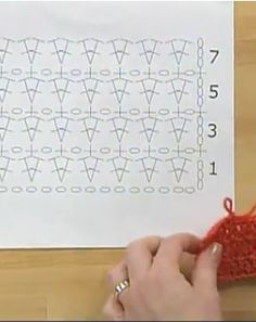 how to read crochet diagrams THIS is necessary!.