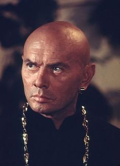 I think Yul Brynner is where I got my think for bald men.