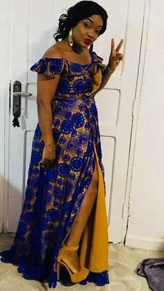 Best African Dresses, African Traditional Dresses, Latest African Fashion Dresses, African Print Dresses, African Print Fashion, Africa Fashion, African Attire, Afrocentric Clothing, Ankara Gown Styles