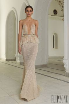 Abed Mahfouz Fall-winter 2014-2015 - Couture white gown