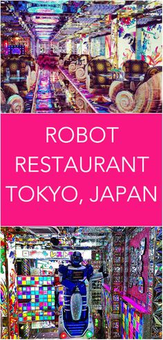 A look inside The Robot Restaurant in Tokyo, Japan.