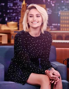 parisjacksonstyle: Paris Jackson on The Tonight Show Starring