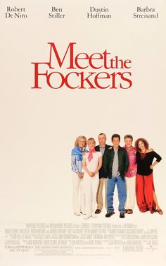 """Film: Meet The Fockers (2004) Year poster printed: 2004 Country: USA Size: 27""""x 40"""" This is a vintage one-sheet movie poster from 2004 for Meet the Fockers starring Robert De Niro, Ben Stiller, Dustin"""