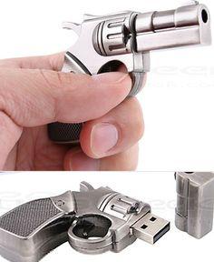 Smith & Wesson revolver USB drive