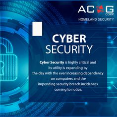 #CyberSecurity solution have become a mandate for entities of crucial significance such as #Government and law enforcement bodies.  #ACSGCorp
