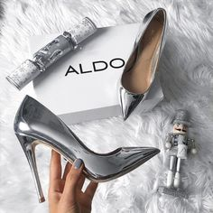 Buy Women Shoes(Order 1 size up)Metal Mania Stiletto High Heel Wedding Pumps Slip on Dance Patent Plus Size 36 - 10 cm) at Wish - Shopping Made Fun Stilettos, Women's Pumps, Stiletto Heels, Cute Shoes, Me Too Shoes, Trendy Shoes, Aldo Shoes, Shoes Heels, Shoes Sneakers