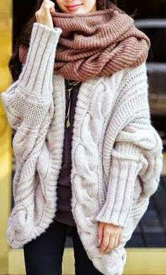 Ladies Fashion: New Korean Women's Bat Sleeve Sweaters