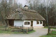 Ukrainian Folk Architecture Museum - Travel Photos by Galen R Frysinger, Sheboygan, Wisconsin Cozy Cottage, Cottage Homes, Ukrainian Restaurant, Ukraine, Camping Resort, Bamboo Wall, Famous Artists, Country Life, Wisconsin