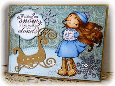 My Creative Moments: Whimsy Stamps November Rubber Stamps - Sneak Peek hop