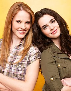 Bay and Daphne- switched at birth. I love this show. theyre both gorgeous