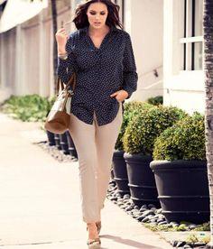 H+ Pantalones tallas grandes primavera-verano 2012