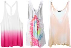 ANNAWII ♥ - TIE DYED TANK TOPS