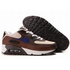 http://www.asneakers4u.com/ 309299 049 Nike Air Max 90 Brown White Black D05066