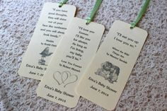 Set of 8 Children Book Theme Bookmark Favors / Baby Shower / Birthday Party Favors / Children Book Quotes
