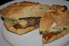 Crock Pot Philly Cheese Steaks- gotta try this recipes sometime! Super easy!