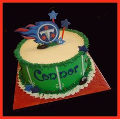 38 Best Tennessee Titans Cakes images | Tennessee Titans, Birthday