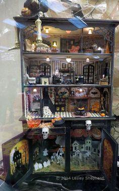 Doll house. For Halloween.