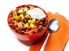 Bean-and-Beef Chili Recipe : Food Network Kitchens : Food Network - FoodNetwork.com