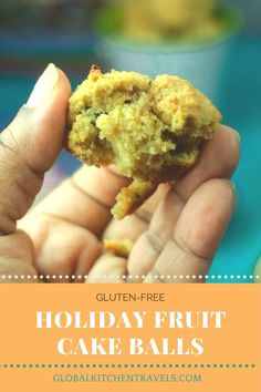 Gluten Free Coconut Flour Holiday Fruit Balls - These holiday fruit balls are stuffed with rum soaked fruit usually reserved for Caribbean Black Cake. These are perfect to have for the adults at your holiday party! How To Make A Cookie Recipe, How To Make Cookies, Alcohol Soaked Fruit, Thanksgiving Recipes, Holiday Recipes, My Recipes, Dessert Recipes, Holiday Punch, Yummy Eats