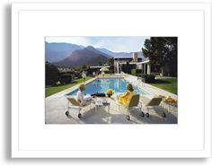 Poolside Glamour - Slim Aarons