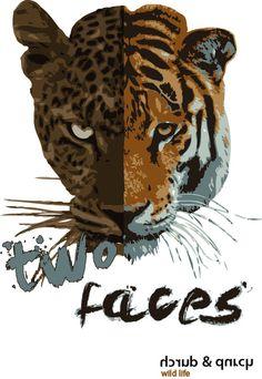 bei durch & durch gehts jetzt auch animals zur sache. unser neues tiermotiv nennt sich 2faches . mit dem 2faces shirt bestreitest du neue wege, ob ...
