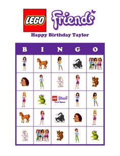Hey, I found this really awesome Etsy listing at https://www.etsy.com/listing/176749070/lego-friends-personalized-birthday-party