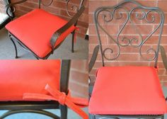 Patio Chair Cushions, Patio Chairs, Sunbrella Fabric, Valentine Gifts, Larger, Cool Stuff, Canvas, Gallery, Red