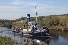 Great Lakes Steam Tug Boats | Steam tug Kerne at Dutton on the Weaver Navigation 30/09/11 | Flickr ...