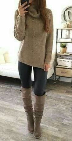 This is a cute look for Fall.