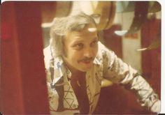 White Sox Park cashier Bob Flynn. August, 1977.