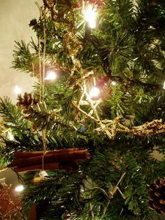 Yule Tree~English, Pagan and in Canada!: Tis the Season. Pagan Christmas Tree, Bohemian Christmas, Christmas Crafts, Celtic Christmas, Dark Christmas, Natural Christmas, Christmas 2016, Christmas Time, Christmas Ideas