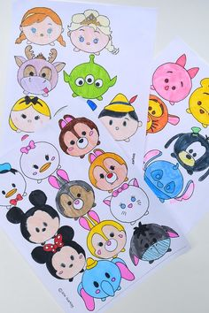 Here are some of the activities we carried out at Kate's Tsum Tsum party . There's nothing particularly novel about them - all parties wi...