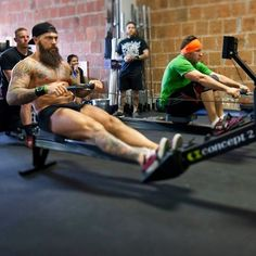 Dave Driskell getting it done - full thick dark beard and mustache beards bearded man men fitness crossfit ripped built muscles muscular tattoos tattooed handsome #beardsforever