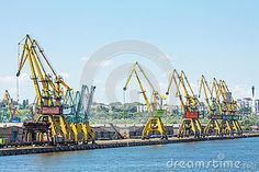 Dockside Cranes - Download From Over 24 Million High Quality Stock Photos, Images, Vectors. Sign up for FREE today. Image: 41328145